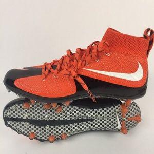 Nike Vapor Untouchable Football Cleats Orange 11.5